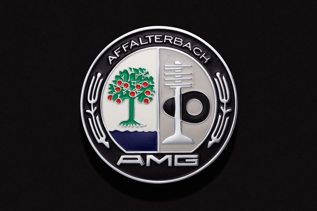AMG Affalterbach Automobile, Hood Ornament Crest Chrome Plated