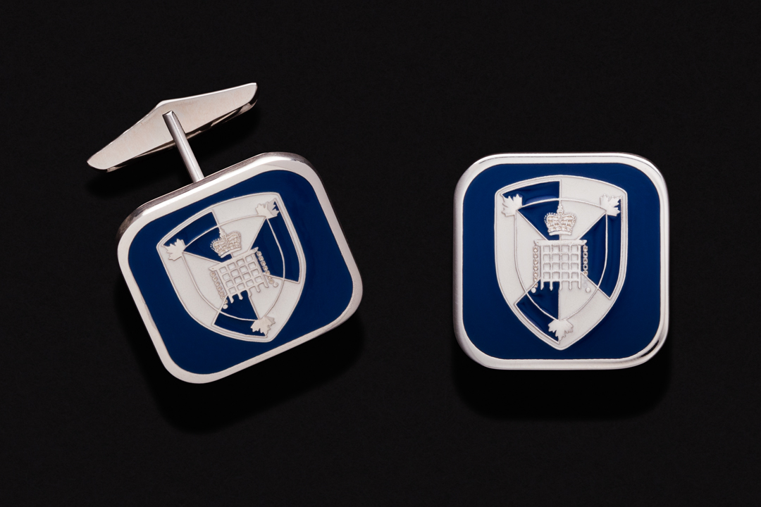 Canada Border Services Agency Logo, Cufflinks Sterling Silver