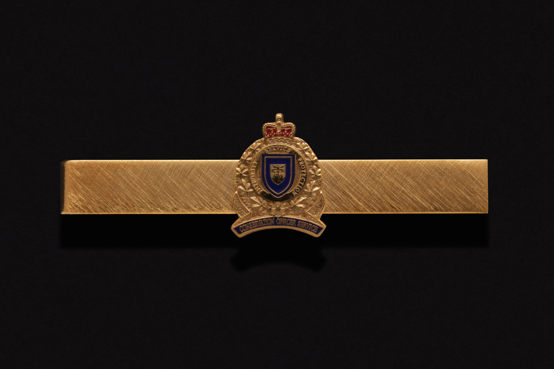 Conservation Officer Service of British Columbia, Tie Clip Gold Plated