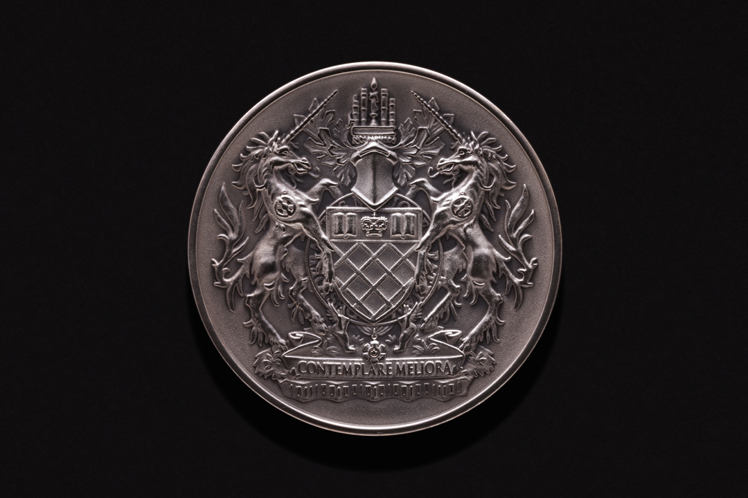 Governor General of Canada (Johnston), Academic Medal Fine Silver