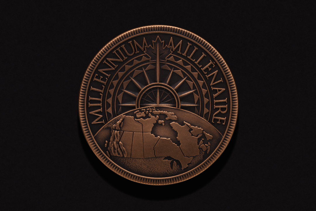 Governor General of Canada, Millennium Medal Commercial Bronze