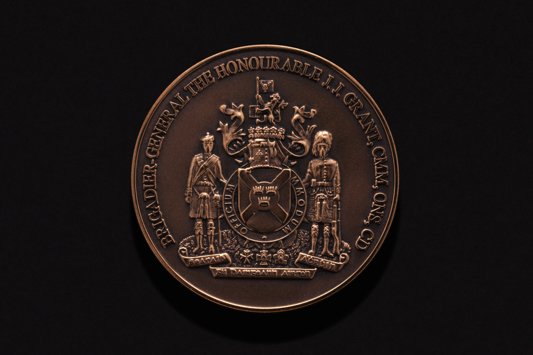 Lieutenant Governor of Nova Scotia, Challenge Coin Copper