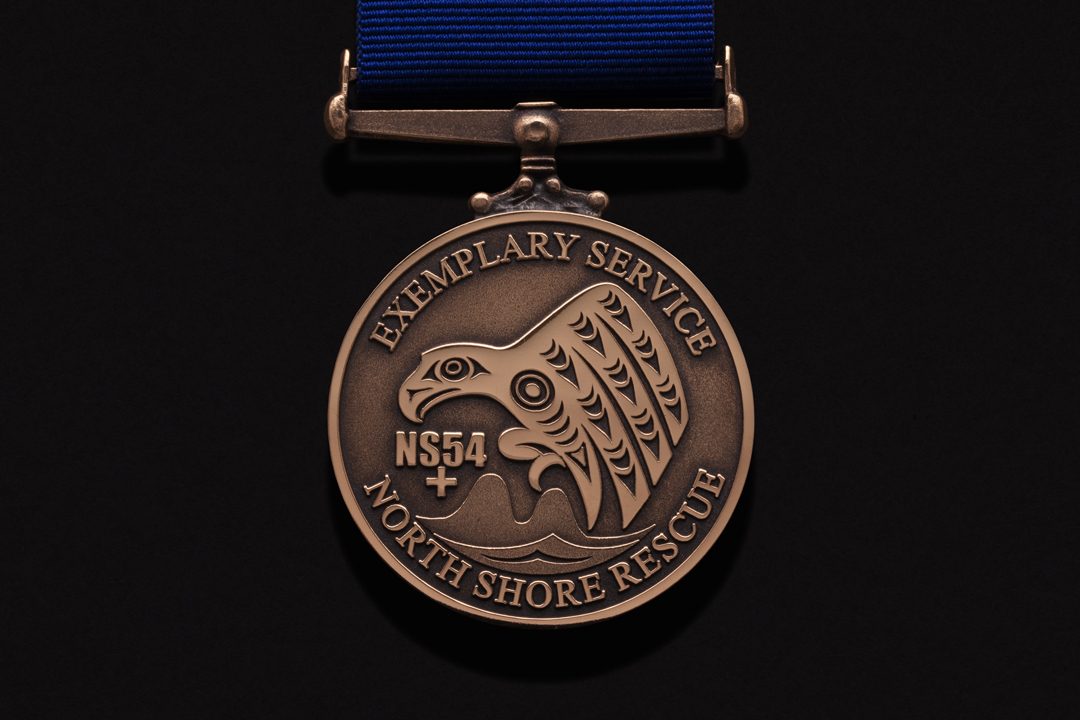 North Shore Rescue, Exemplary Service Medal Commercial Bronze