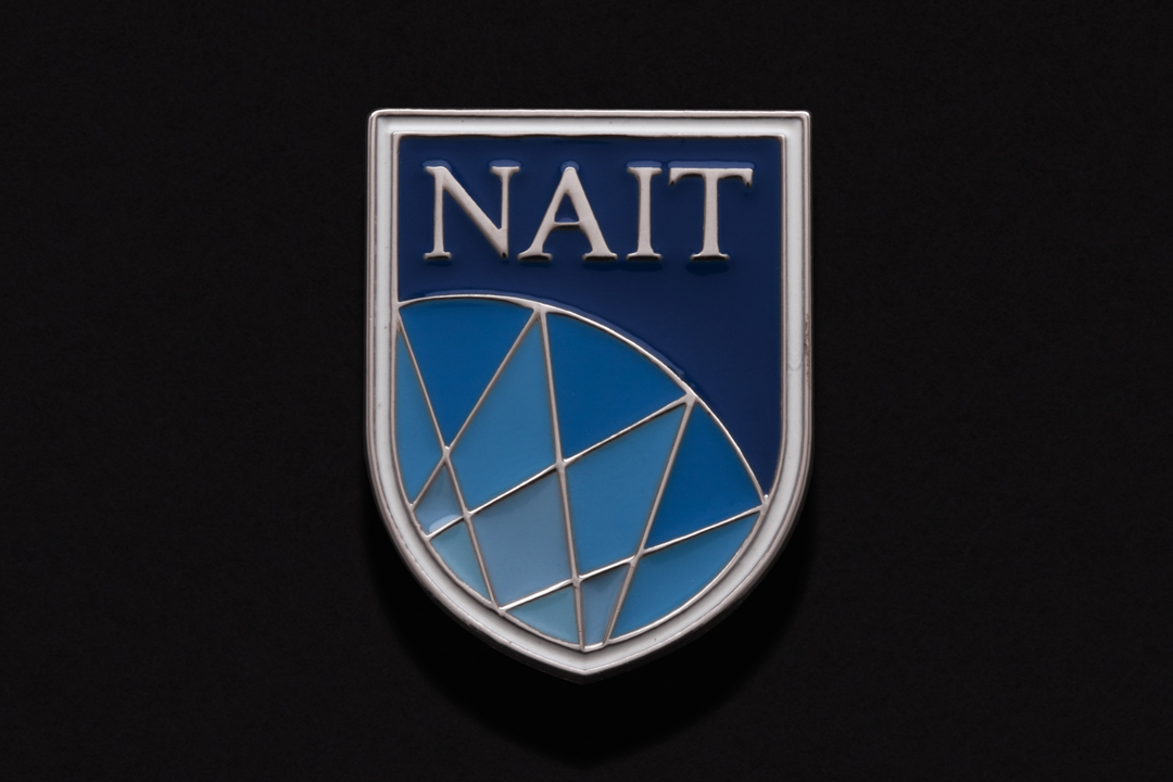 Northern Alberta Institute of Technology, Shield Pin Nickel Plated