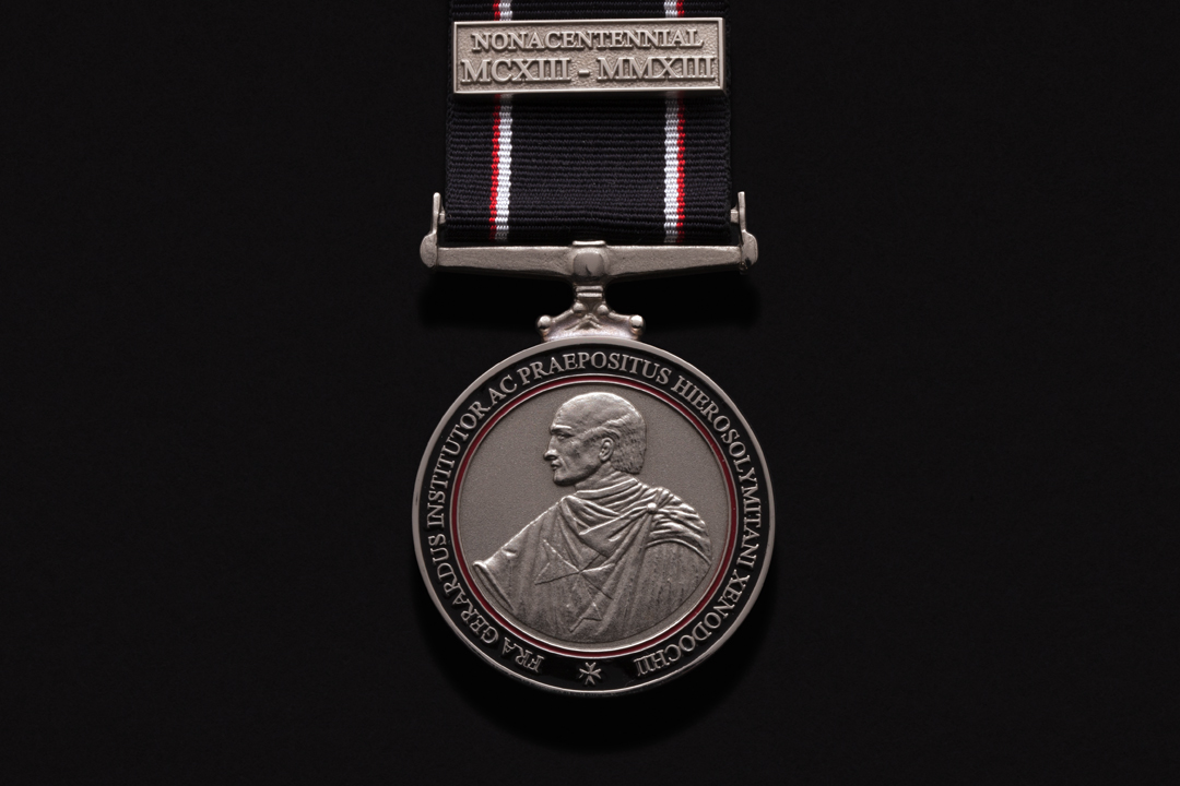 Order of St. John, Founders Medal Nickel Silver