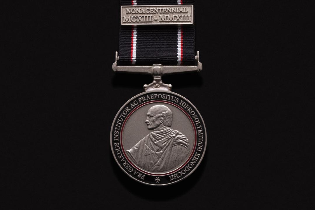 Order of St. John, Founders Medal Nickel Silver