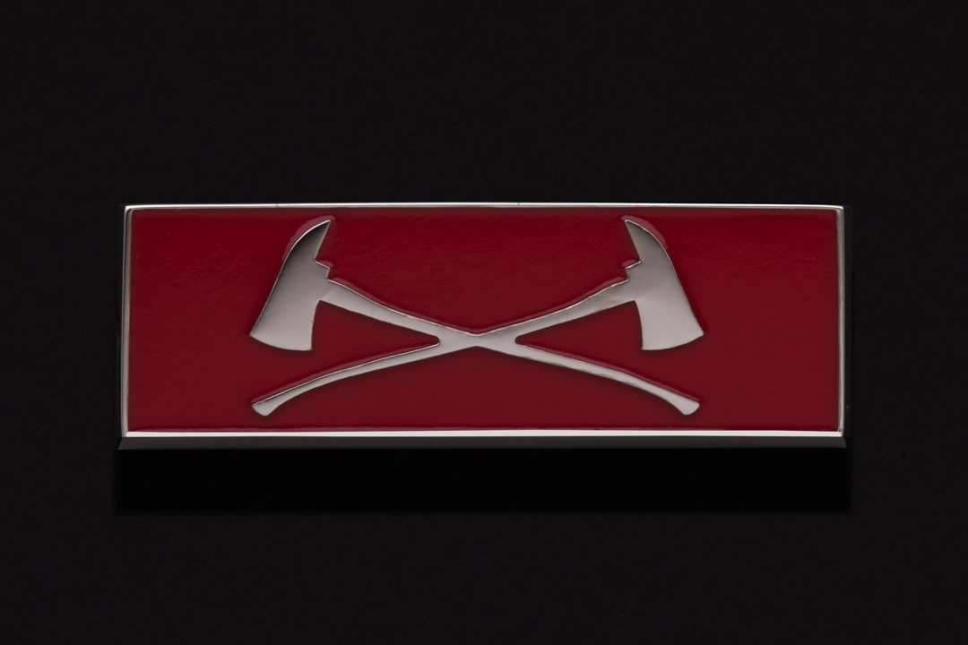 Port Moody Fire Rescue, Commendation Bar Nickel Plated