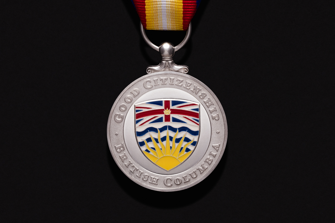 Province of British Columbia, Good Citizenship Medal Sterling Silver