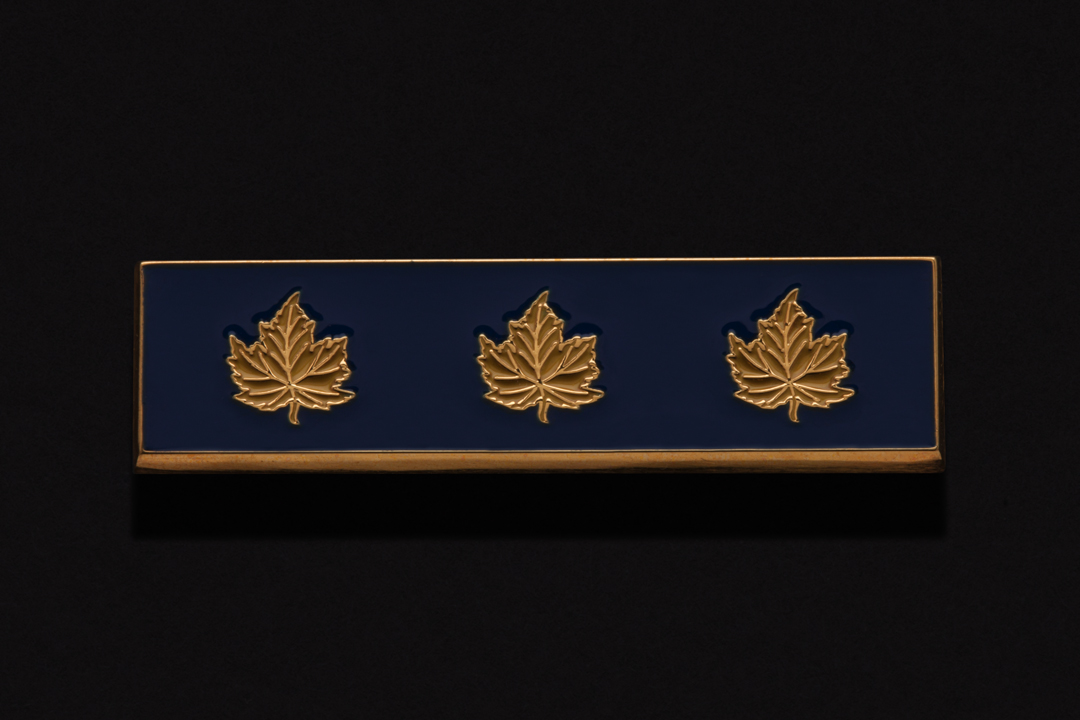 "Royal Canadian Mounted Police ""E Division"", Generation Bar Gold Plated"