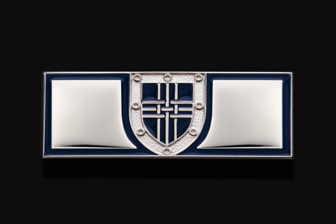 SCBCTA Member, Commendation Bar Nickel Plated