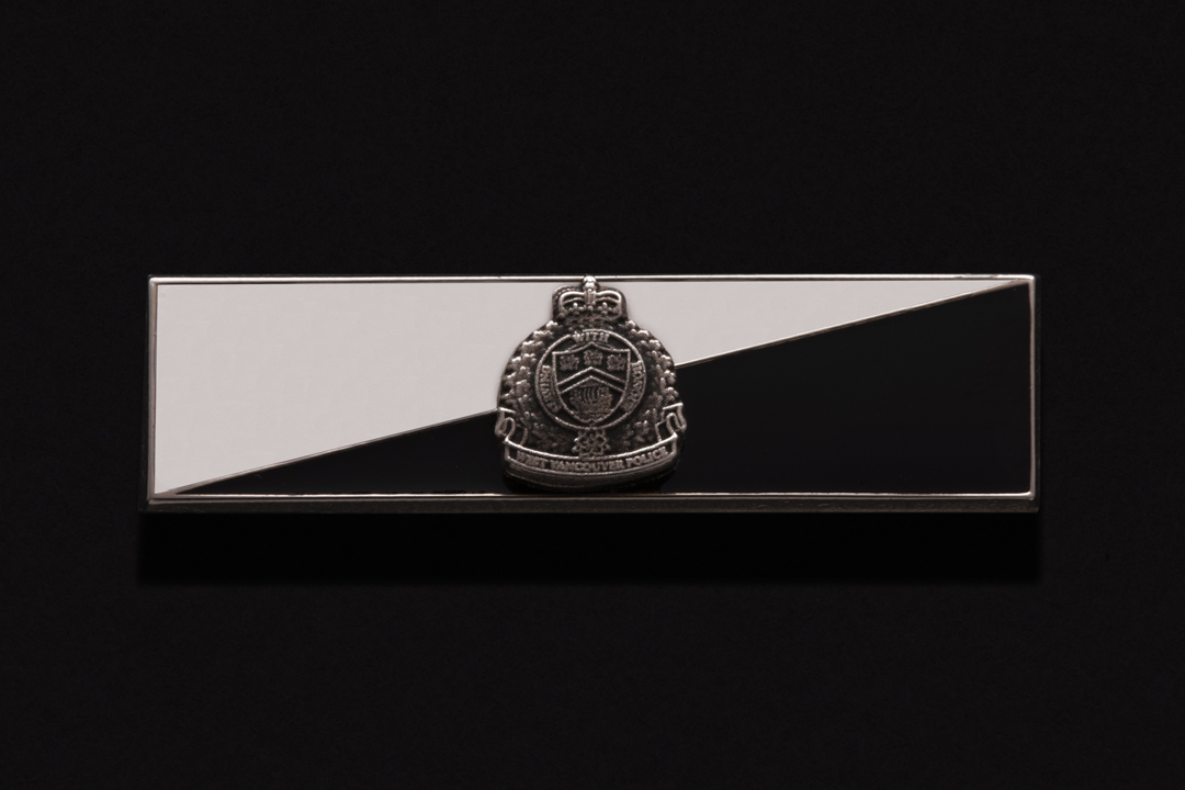 West Vancouver Police Department, Commendation Bar Nickel Silver